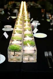 Non Flower Centerpieces For Wedding Tables by Non Floral Wedding Centerpieces My Hotel Wedding