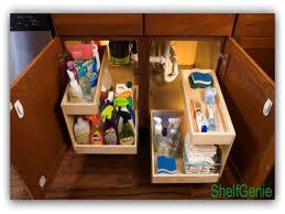 Under Kitchen Sink Storage by Under Kitchen Sink Towel Bar Kitchen Design