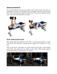 Proper Way To Do Bench Press Top 6 Chest Workout Tips To Get Attractive Size Play To Fitness