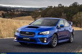subaru wrc 2017 ausmotive com my15 subaru wrx sti u2013 australian pricing u0026 specs