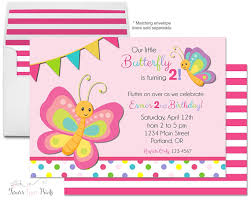 butterfly invitations butterfly birthday invitation birthday party invite