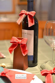 wine bottle bows christmas gift bows christmas wine bottle bows christmas wine