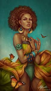 beautiful cartoon women art 55 amazing black hair art pictures and paintings