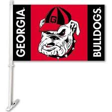 Georgia Bulldog Rugs University Of Georgia Flags U0026 Flag Poles Outdoor Decor The