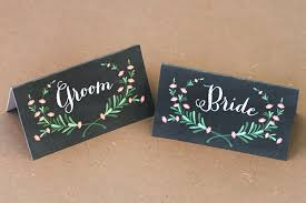 and groom cards and groom place cards