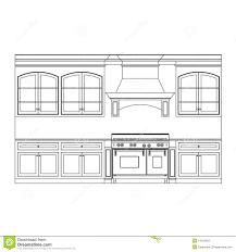 crazy kitchen cabinet elevation design drawing line elevations