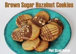 brown sugar hazelnut cookies pint sized baker