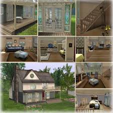 beautiful cottage home in modern design with a big size and large