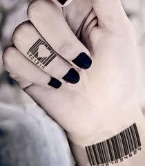 unique tattoo designs barcode tattoos u2013 best tattoos 2017