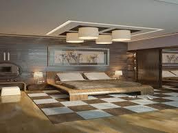 Bedroom  Elegant Master Bedroom Design Brown Wooden Nightstand - Modern master bedroom designs pictures