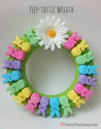 Easy Easter Door Decorations by Easter Peep Party Ideas Lots Of Dessert Sweet Treat Snacks