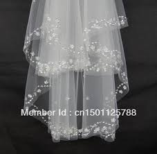 wedding veils for sale sale bead pearl white ivory 2t wedding veil bridal veil with comb
