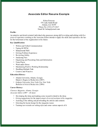 Editor Resume Sample by Copy Editor Resume Sample Of Assistant Production Editor Cover