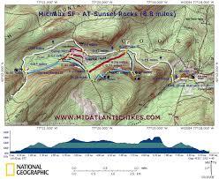 Appalachian Trail Map Pennsylvania by Michx At Sunsetrocks Jpg
