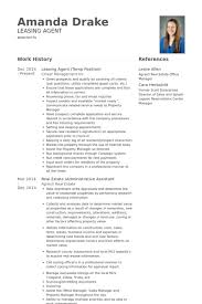 Leasing Agent Duties Resume Resume For Leasing Agent Professional Resumes Sample Online