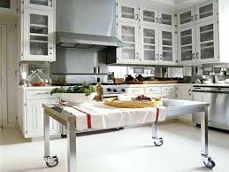 Stainless Steel Kitchen Island Table Stainless Steel Kitchen Island Snaphaven