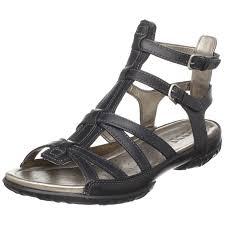 amazon com ecco women u0027s groove gladiator sandal black 36 eu