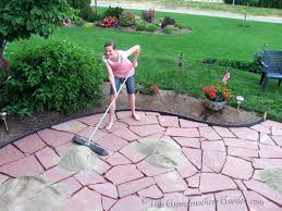 laying pavers over concrete patio patio ideas diy flagstone patio over concrete how to make a