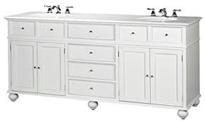 White Bath Vanity With Top Amazon Com Hampton Bay Double Sink Cabinet Bath Vanity With