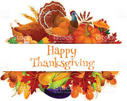 happy thanksgiving banners thanksgiving autumn harvest decoration banner stock vector art