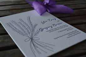 lavender wedding invitations lucky invitations couture wedding invitations letterpress invites