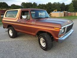79 Ford Bronco Interior 79 Ford Bronco Vintage Minty For Sale Photos Technical