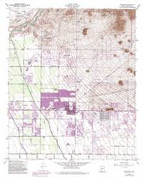 Mesa Arizona Map by Buckhorn Topographic Map Az Usgs Topo Quad 33111d6
