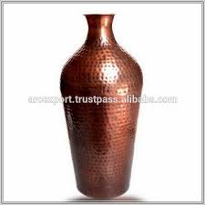 Copper Flower Vase Shiraleah Prism Vase 14 By 8inch Copper Three American Copper And