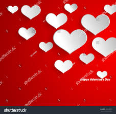 design template eps10 heart valentines day stock vector 125046653