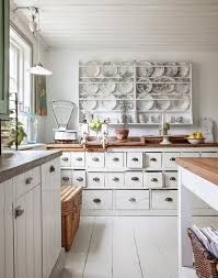 Shabby Chic Decorating by Style Of Shabby Chic Kitchens With Fair Layout Ideas