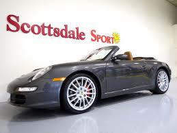 porsche 911 s convertible 2008 used porsche 911 s cabriolet 6sp manual slate grey on