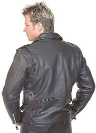 mens motorcycle leathers classic leather motorcycle jacket for men m110ec
