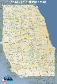 Map Of Chicago Land Area by Northwest Snow Removal Service Area Map Commercial Plowing