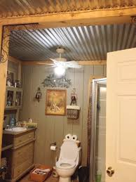 bathroom ceiling ideas great ceiling ideas for bathroom like the roof barn tin bathroom