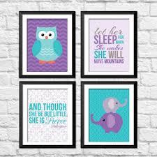 best purple and teal nursery decor products on wanelo