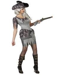 Ghost Costumes Grey Pirate Ghost Costume For Women Adults Costumes And Fancy
