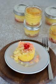 jar pineapple upside down cakes
