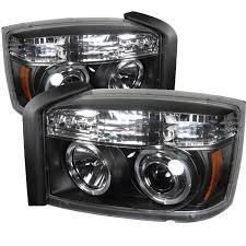 amazon com spyder auto dodge dakota black halogen led projector
