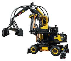 lego technic bucket wheel excavator lego technic volvo ew160e 42053 u2013 skyline
