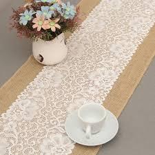 chemin de table mariage chemin de table dentelle table runners linen decoration