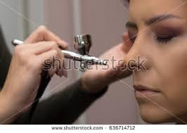 Airbrush Makeup Professional Airbrush Makeup Stock Images Royalty Free Images U0026 Vectors