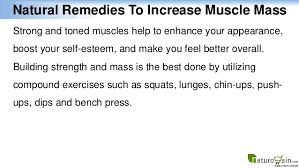 Natural Bench Press Natural Remedies To Increase Muscle Mass And Healthy Body Weight