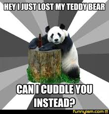 Teddy Bear Meme - hey i just lost my teddy bear can i cuddle you instead meme