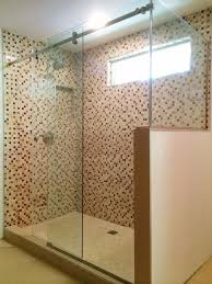 Frameless Shower Door Sliding by Frameless Sliding Shower Doors And Enclosures
