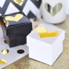 favor boxes for wedding mini cube party favor boxes in various colors birdsparty