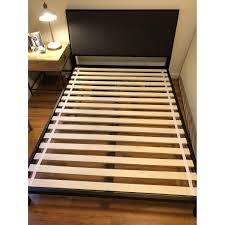 Width Of King Bed Frame Crate Barrel Isaac Bed Frame Aptdeco