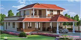 2834 square feet kerala model villa exterior kerala home design