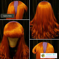 Scooby Doo Crib Bedding by Daphne Blake Inspired Wig From Scooby Doo