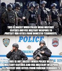 Military Police Meme - image tagged in racism imgflip