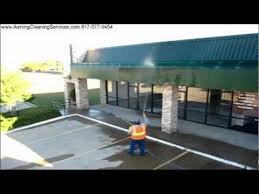 Cleaning Awnings Cleaning Awnings Shopping Center Dallas Fort Worth Dfw Tx 817 577